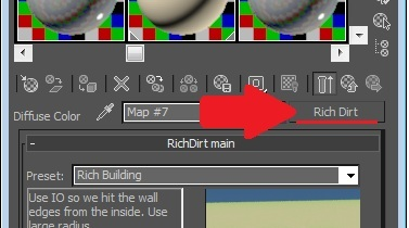 3ds Max material editor - choose a map